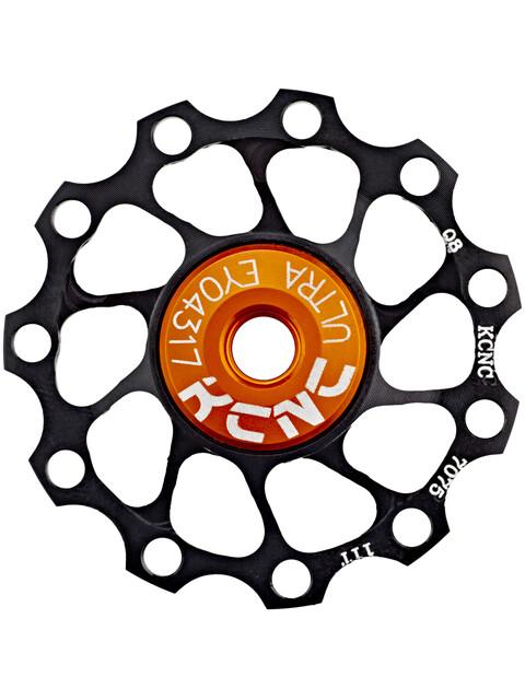 KCNC Jockey Wheel Ultra - 11 dents palier SS noir